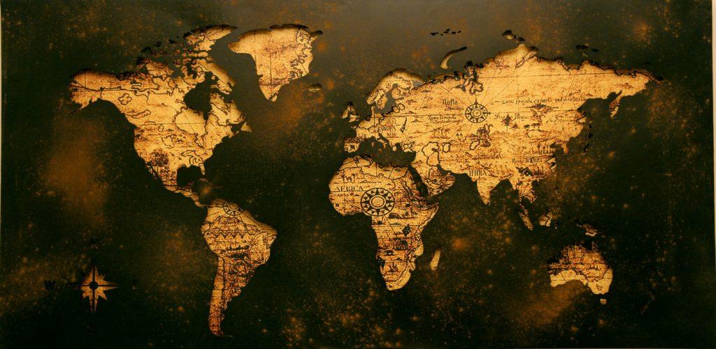 atlas mappemonde planisphere