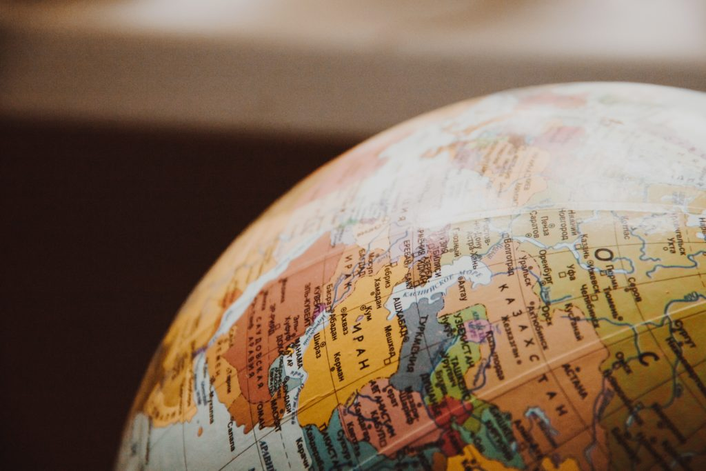 globe mappemonde planisphere