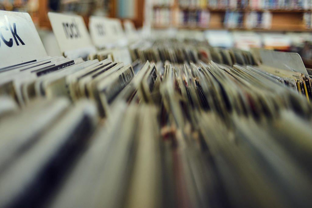 brocante vintage vinyl